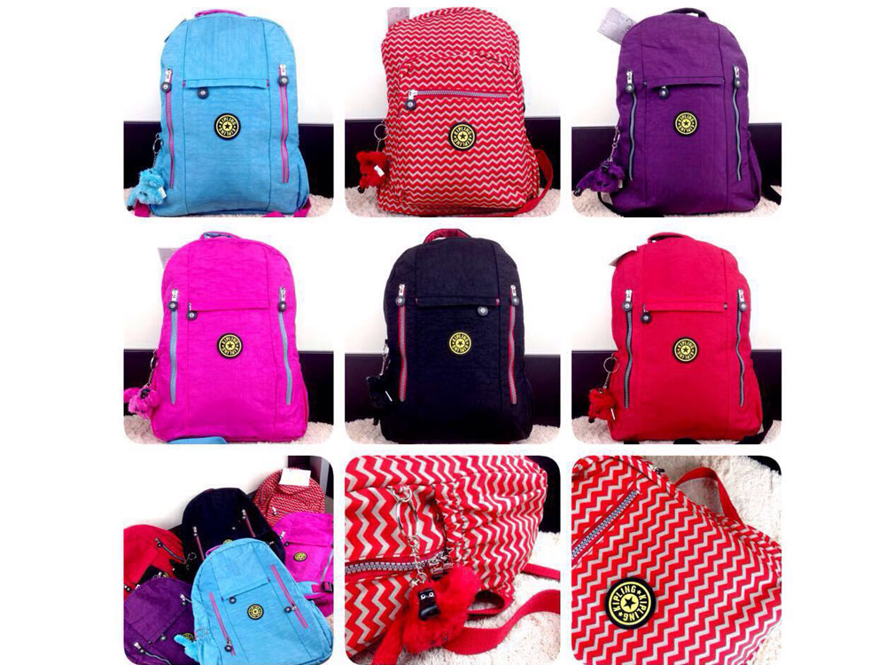 model tas kipling city backpack model terbaru
