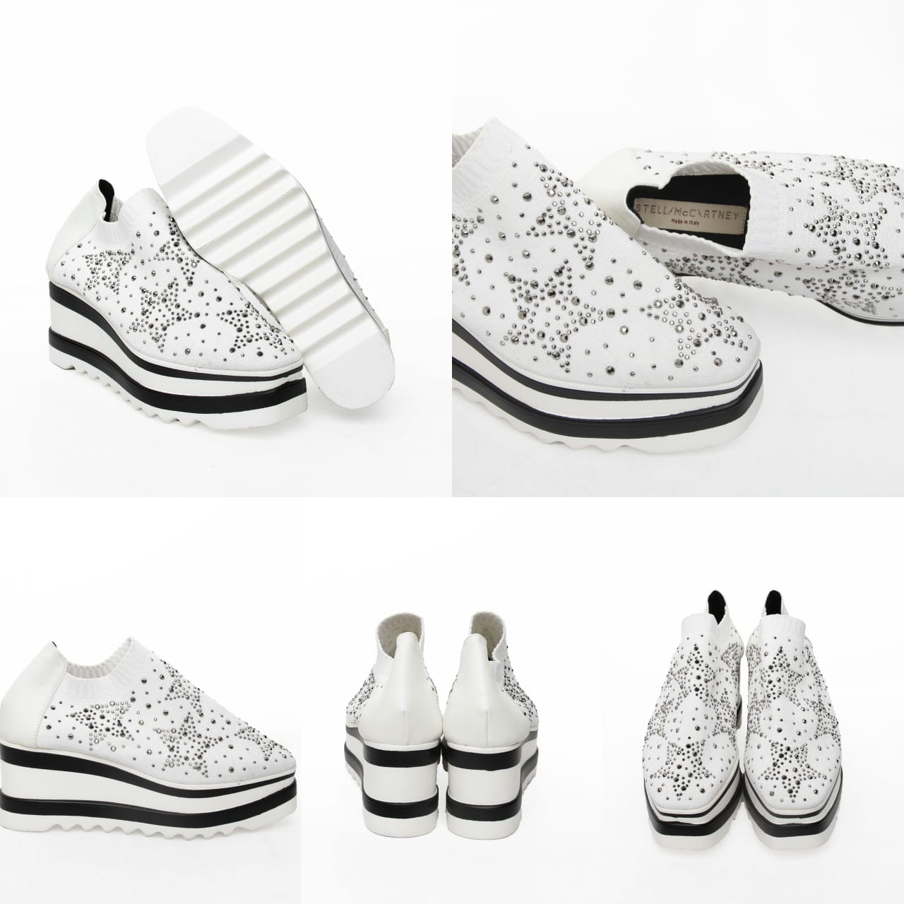 CollectionBatam | Sepatu Stella Mccartney Wedges Star ...