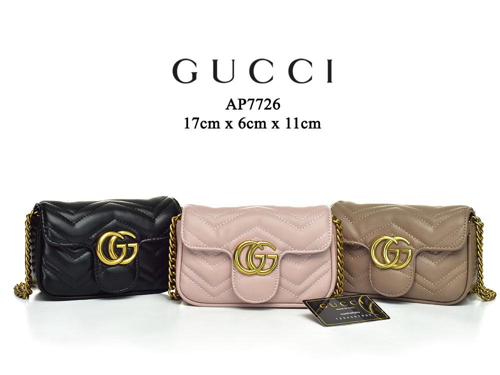 1873c6e1791 Tas Gucci Shoulder GG Marmont Matelasse Super Mini Softpink Semi ...